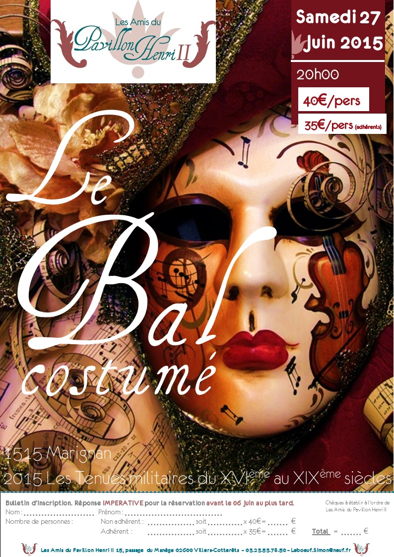 Invitations le bal 2015